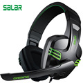 Salar kx101 Gaming Headset  PC Gamer Wired Headphones Deep Bass Earphone Adjustable Stereo Sound With 3.5mm Audio Cable