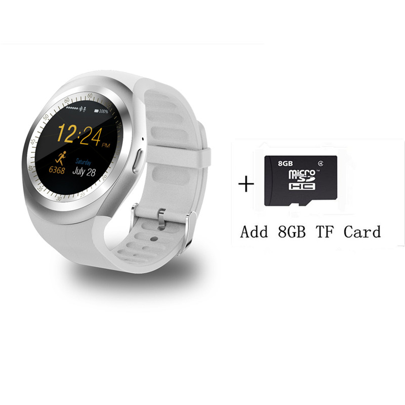 Bluetooth Smartwatch Y1 Smart Watch Relogio Invicta 2G GSM SIM App Sync Mp3 for Apple iPhone HTC Xiaomi Android Phones pkV365/k8 meanit m5
