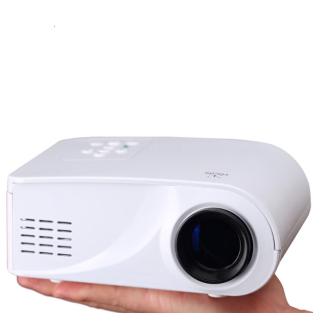 Full HD 1080P 100LM Mini LED Home Theater Projector with Remote Control Support HDMI / VGA / SD / RCA