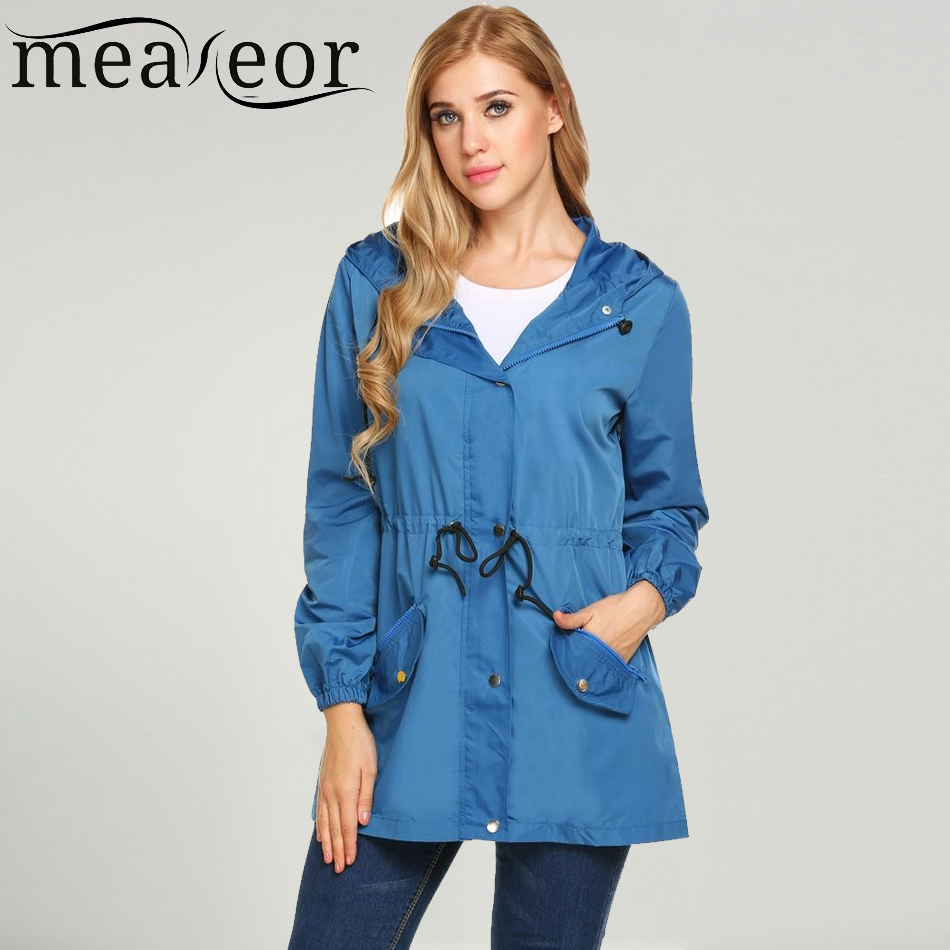 Meaneor 2017 New Women Casual Jacket Lons