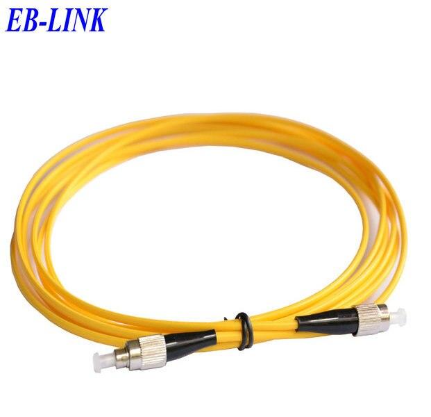 15 м FC / PC-FC / pc, 3.0 мм, одномодовый 9/125, симплекс, оптическое волокно патч-корд кабель, фк чтобы фк