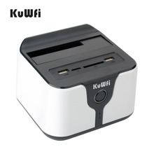 USB drive dock 3.0 to sata 2.5″ 3.5″ station Wifi HDD Enclosure docking station Support AP Wi-Fi bridge Support extra U disk