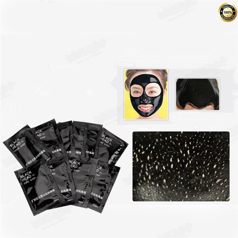 2017 New Skin Care Facial Blackhead Remover Deep Cleaner MaskSuction Anti Acne Treatments Black Head Mask 6g/Pcs