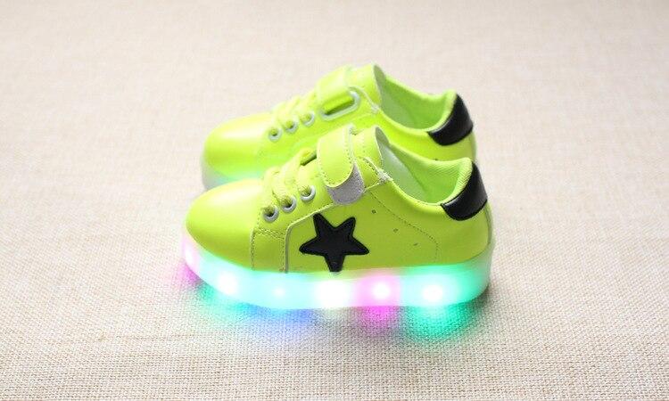 2016 Yeni moda bebek ışık ayakkabı kız ve erkek rahat ayakkabı yumuşak alt ilk yürüyüş toddler ayakkabı çocuk sneakers çocuk ayakkabı
