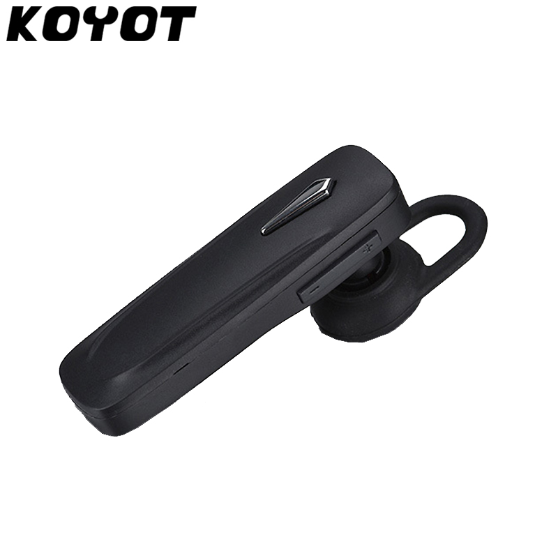 KOYOT MINI Car Wireless Bluetooth Stereo HeadSet Handsfree Earphone mini stereo car bluetooth headset wireless earphone bluetooth handsfree car kit with 2 usb base charging dock