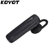 KOYOT MINI Car Wireless Bluetooth Stereo HeadSet Handsfree Earphone UM
