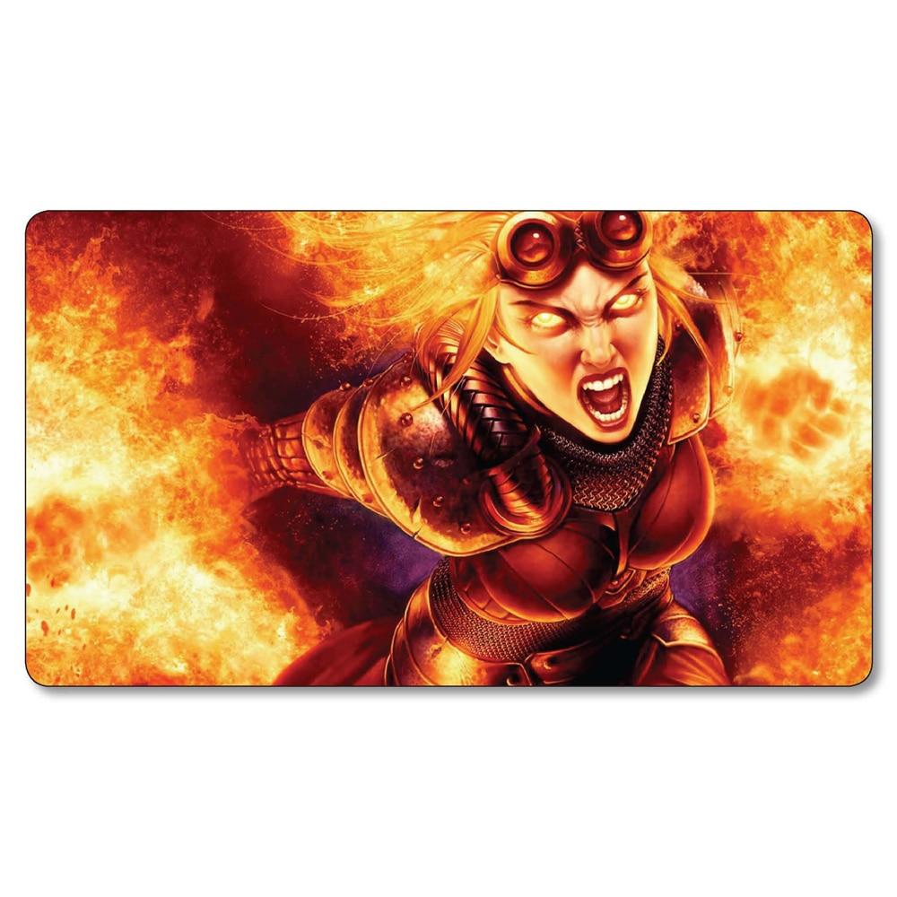 Magic board game mat Chandra Playmat Planswalker Board Games play mat large table pad ga ...