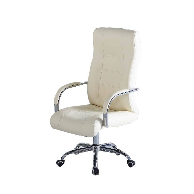 Office Furniture PU Lift Conference Chair Rotation Staff Seat Swivel Chair Multifunction Office Stool Simple Household Soft Seat