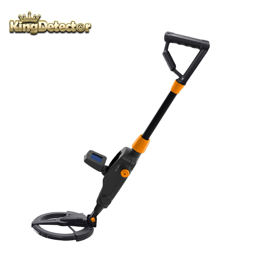 Kingdetector new arrival high quality md 1008a kid metal detector beach searching machine md 1008 free