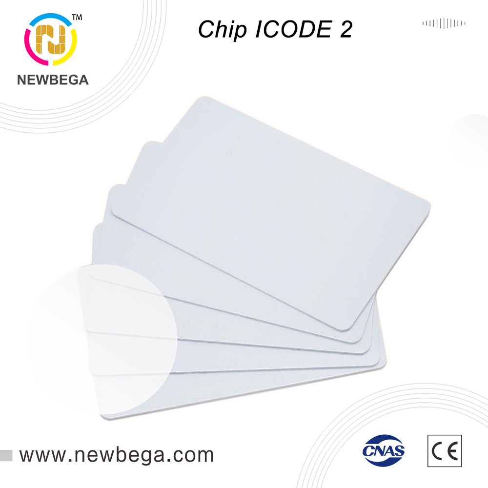 10pcs RFID Chip ICODE SLI 13.56MHz White Card ISO 15693 ICODE 2 Standard Card Free Shipping Fast Delivery