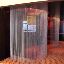 10 Color Wedding Party Home Decorations Crystal Arylic Glass Beads Rope  Curtain Hanging On Screen Door