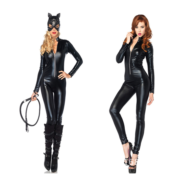 Halloween carnival party Christmas cosplay Japanese anime costumes girl women batman catwoman costume party Pole dancing  sc 1 st  AliExpress.com & Halloween carnival party Christmas cosplay Japanese anime costumes ...