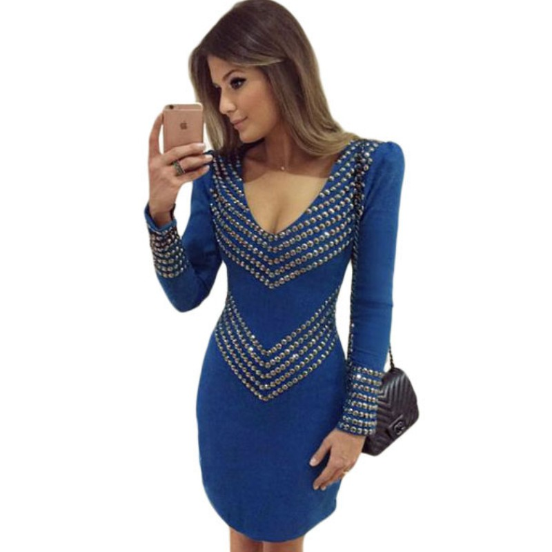 Compare Prices on Royal Blue Casual Dress- Online Shopping/Buy Low ...