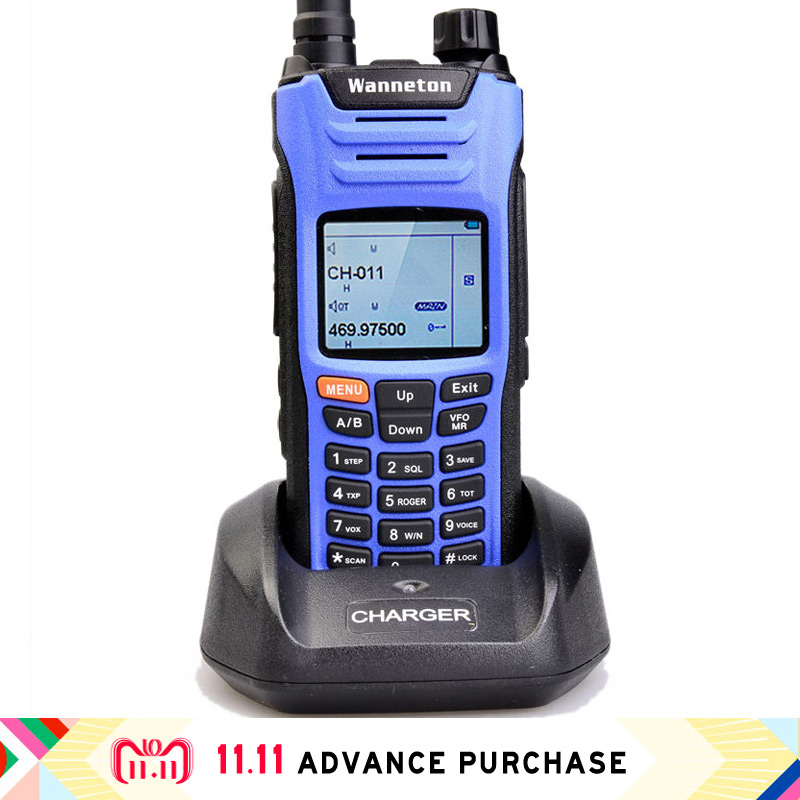 Tetra-band UV6F auto walkie talkie radio handphone telsiz citofono per la caccia walkie-talkie 10 km Ad Alta Potenza