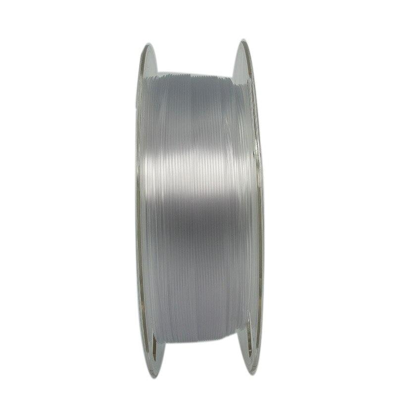 """ספיישל SILVERLIT ABS / PLA / PETG נימה 1.75 / 1 ק""""ג / 3D מדפסת מתכלים / YouSu באיכות גבוהה מותג שקוף משלוח חומר מרוסיה (5)"""