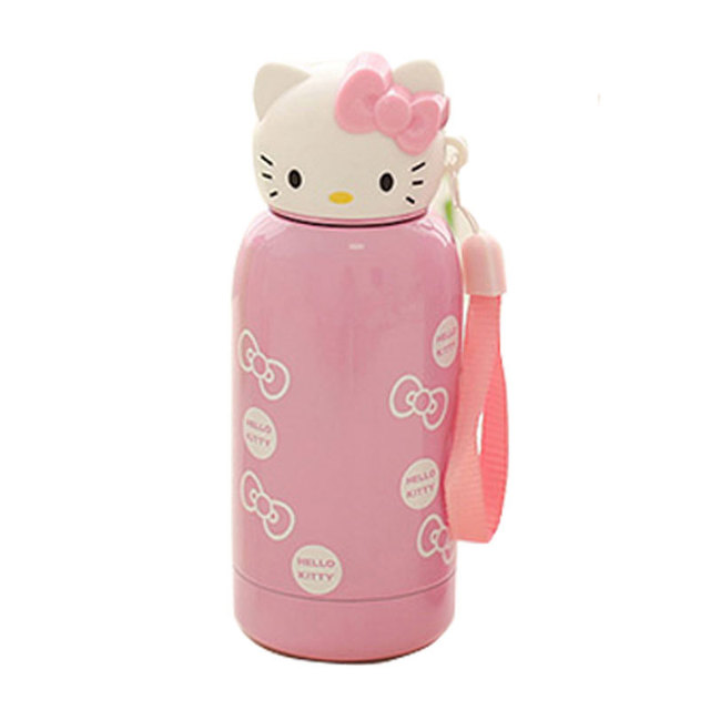 Kitty Cat Vacuum Cup Stainless Steel Water Bottle
