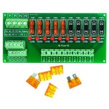 Плата модуля распределения питания с 10 позициями, для AC/DC 5 ~ 32V.
