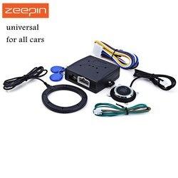 Авто сигнализация двигателя автомобиля кнопка запуска RFID замок зажигания Стартер замками Start Stop иммобилайзер системы