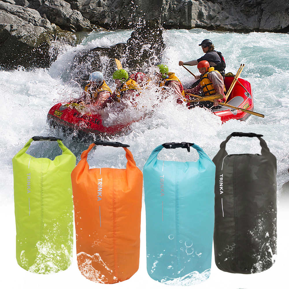8L/40L/70L Portable Waterproof Dry Bag Sack Storage Pouch Bag for Camping Hiking Boating Kayaking Rafting Swimming Bags