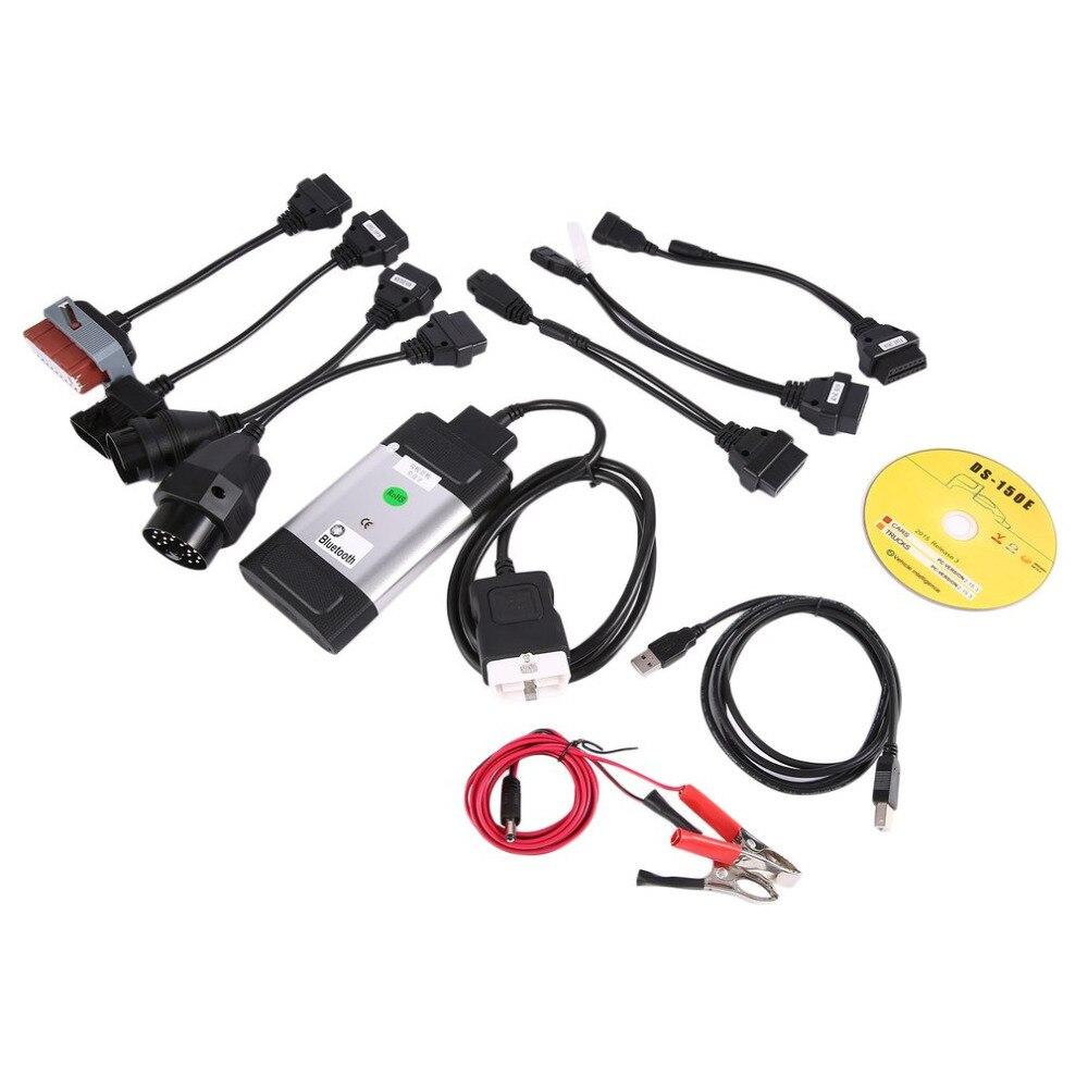 Профессиональный Авто Bluetooth TCS CDP Pro Plus для Autocom OBD2 инструмент диагностики + 8 шт. диагностики автомобиля Кабели комплект прямая доставка