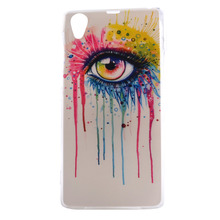 2016 New Fashion Back Cover For Sony Z1/Z2/Z3 10 Patterns Soft TPU Material Housing Shell Cases For Sony Z1 Fundas Coque Cases