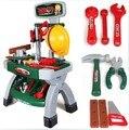 Kit de ferramentas para crianças Jogar Fingir cozinha de brinquedo de plástico brinquedo do caminhão ferramenta higiene eletrodoméstico para oficina de ferramentas de poder