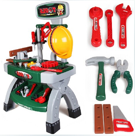 tool kit for children Play cozinha de brinquedo Pretend plastic tool truck toy higiene eletrodomestico para power tools workshop stator for hs500 hisun500 model carburetor model
