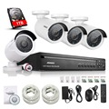 ANNKE 4CH NVR 720P HD IP Network PoE IR Outdoor CCTV Home Security Camera System with 1TB HDD