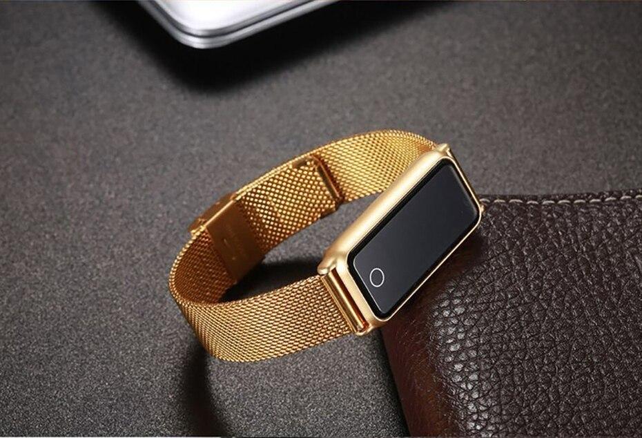 Y8 Smart Watch Stainless Steel Women Sports Touch Screen Health Bracelet Ons Men Fitness Bracelet for Measuring Pressure Fitness 2018 2019 (23)