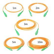 SC/APC-SC/APC-SM 3 мм волоконно-оптический соединительный кабель одномодовый удлинитель патч-корд 1 м, 2 м, 3 м, 5 м, 10 м