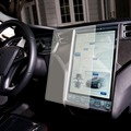 Prêmio Vidro Film 0.5mm Real de Vidro Temperado Protetor de Tela de 17 polegada para Tesla Model S Com Embalagem Original Silicone otário