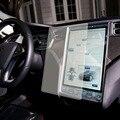Prima Real de Cristal Templado de Película De Vidrio de 0.5mm 17 pulgadas Protector de Pantalla para Tesla Model S Con El Paquete Original de Silicona lechón