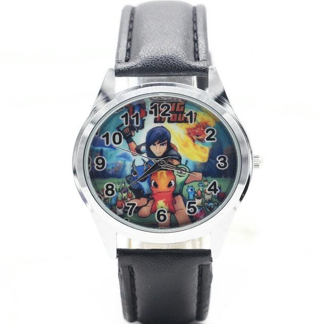 Hot sale Watch New Slugterra Child Watch Cartoon Kids Sport Watch Boys quartz wa