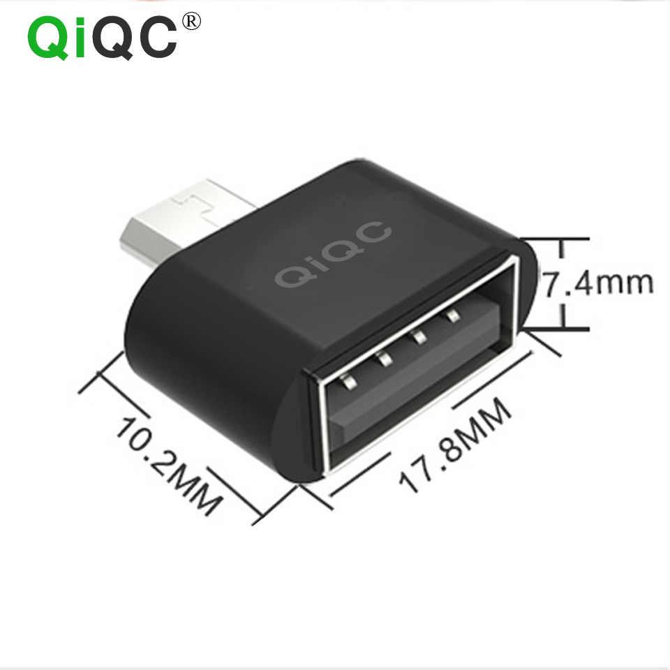 Adaptador OTG Micro USB Macho para USB 2.0 Micro Adaptador Conversor para Samsung Xiaomi LG Huawei asus ZTE google Android telefones celulares