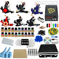 ITATOO Pens Tattoo Kit Cheap Tattoo Machine Set Kit Tattooing Ink Machine Gun Supplies For Jewelry Weapon Professional TK1000008