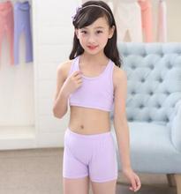 Детская одежда для девочек Дети хлопок и девочек нижнее белье для девочек трусы детский жилет