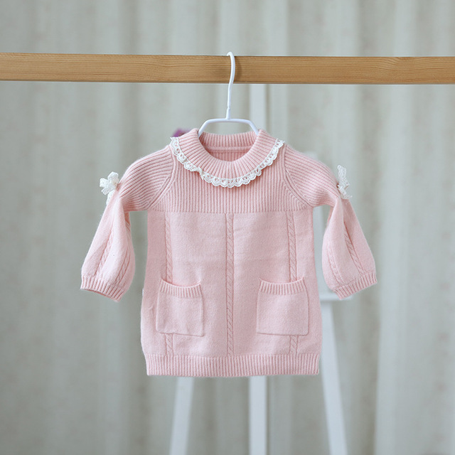 4ef5cb86c Brand Top Quality Idea 2016 Autumn Winter Infant Girl Baby Cute Lace ...
