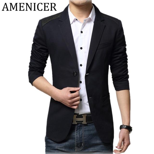 2017 Nuevos Hombres de Moda Blazer Casual Suit Chaqueta de Color Caqui De  La Vendimia Diseñadores 5cb4ad3c59b