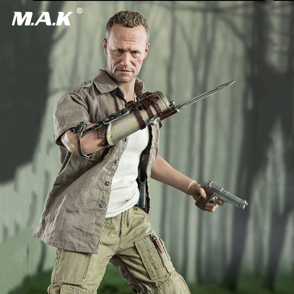 1/6 Scale Collectible Walking Dead Action Figure Merle Dixon Full Set Action Figure with Original Box 3a 1 6 the walking dead merle dixon collectible action figure toy 1 6 doll collection full set action figure with original box
