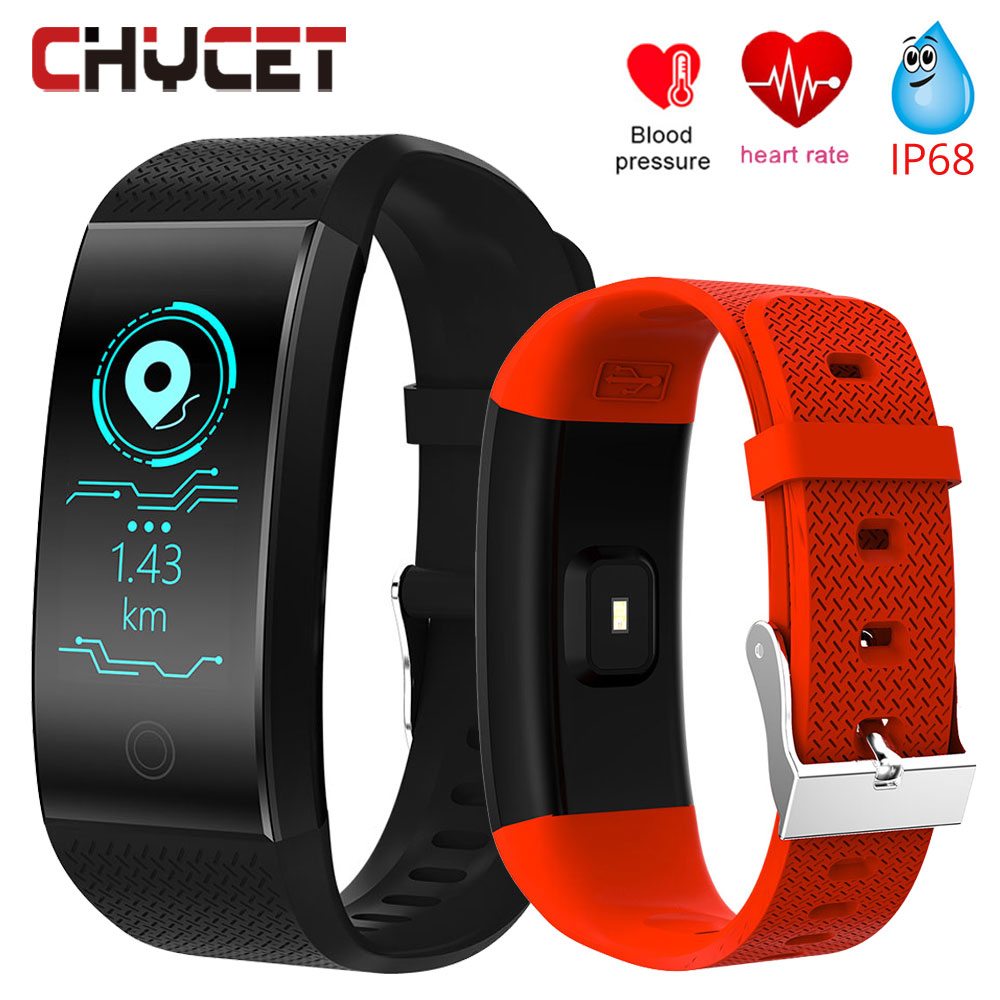 Smart Watch Blood Pressure Heart Rate Monitor Smartwatch IP68 Waterproof GPS Fitness tracker Watch Smartwatch Men Women Bracelet colmi v11 smart watch ip67 waterproof tempered glass activity fitness tracker heart rate monitor brim men women smartwatch