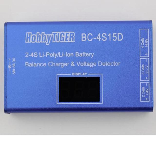 Оптовая BC-4S15D Литиевая Батарея Lipo Баланс Зарядное Устройство С Дисплеем Напряжения 1500mA Новые