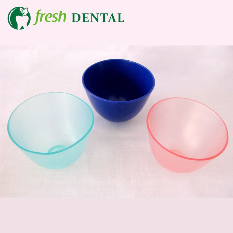 180PCS Dental Mixing Bowl reconcile bowl rubber bowl cleaning can be repeated Dental Lab materials dental tools SL511