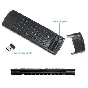Image 4 - FGHGF MX3 2.4G 무선 키보드 컨트롤러 원격 제어 에어 마우스 스마트 안 드 로이드 7.1 TV 상자 x96 미니 s905w tx3 tvbox
