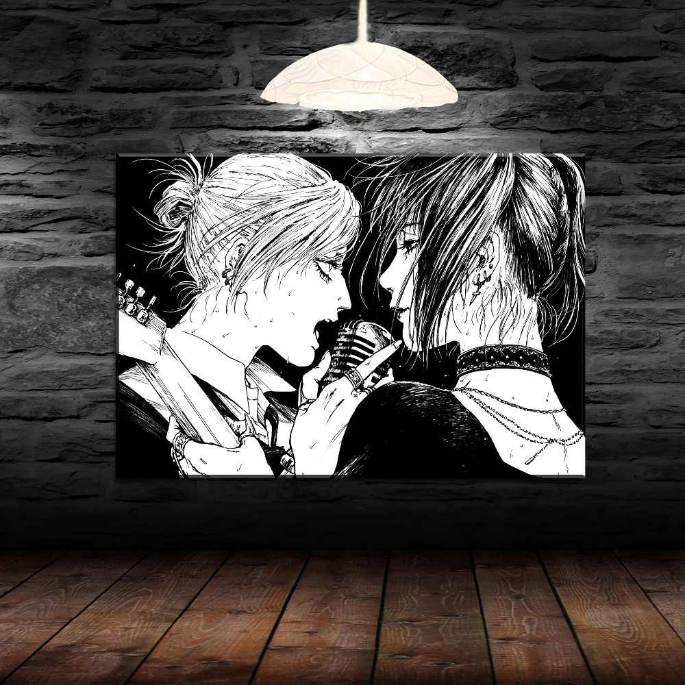 Canvas Painting Wall Art Print Annie Leonhart And Mikasa Ackerman Picture 1 Pcs Anime Attack On Titan Poster Home Decor Bedroom