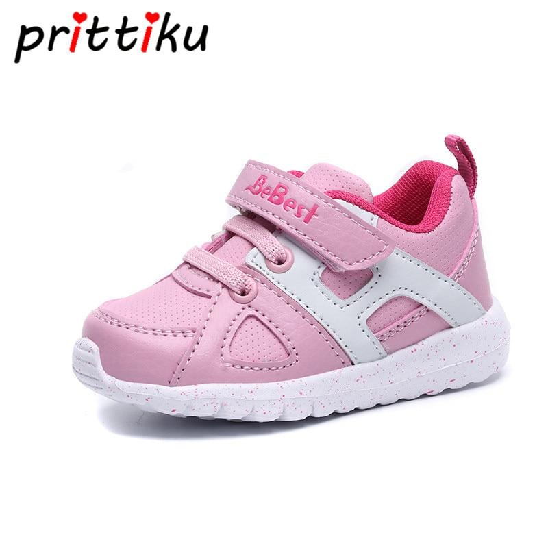 Baby Boy Casual Sneaker Toddler Girl Pink School Sport Trainer Little Kid Children Brand Spring Summer Autumn First Walker Shoes