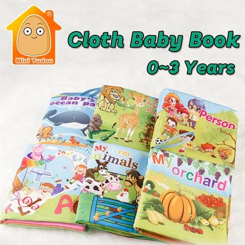 aprendizagem precoce 6 pces livros de pano macio para bebes infantil educacional brinquedos silenciosos presente