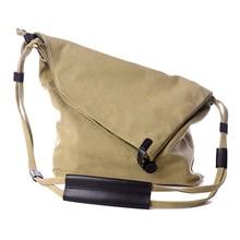 2016 mode Frauen Handtasche Leinwand Umhängetasche Messenger Crossbody Taschen Satchel Einfarbig Lässig Trage Großhandel