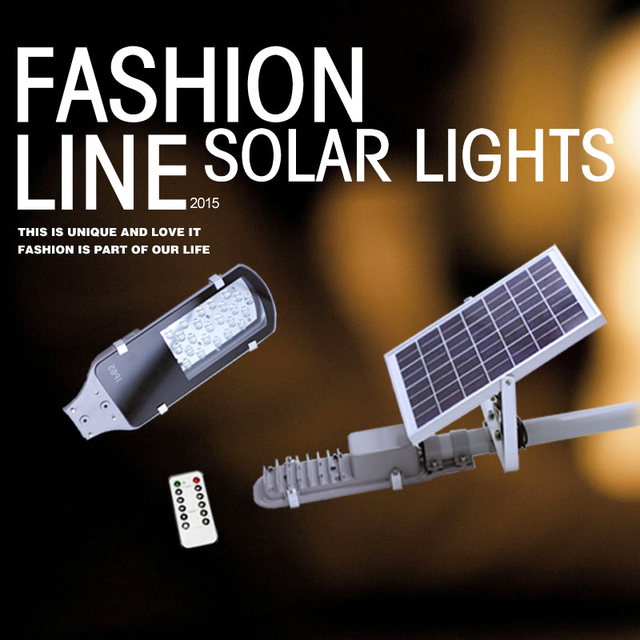 24 Leds Remote Control Solar Street Lights Outdoor Garden Path Wall Spotlights Sun Ed Panel Led