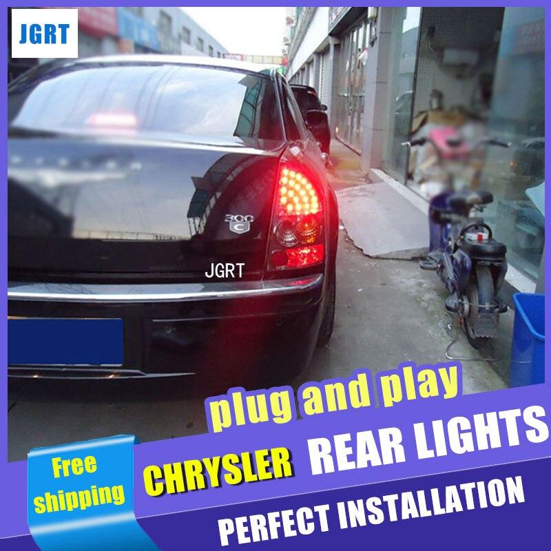 стайлинга автомобилей для Крайслер 300C задний фонарь assembly2005-2008 для 300С задний фонарь специальный автомобильный свет Сид задний фонарь свет с 2шт