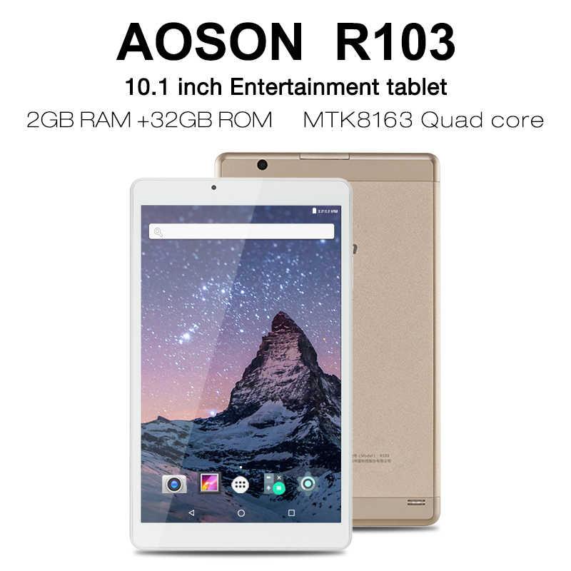 Chất lượng cao 10.1 inch Ban Đầu Vàng Viên Thiết Kế Android 7.0 Quad Core IPS WiFi 7 8 9 10 Android máy tính bảng 2GB 32GB